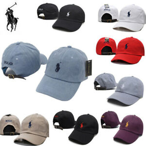 New-Men-Women-Cap-with-Fine-Embroidery-Small-Pony-Polo-Logo-Hat-Baseball-Cotton