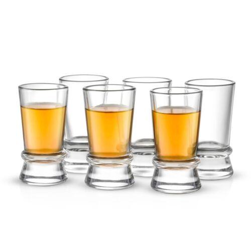 Heavy Base 1.5 Oz Shot Glasses JoyJolt Afina Shot Glasses Set of 6