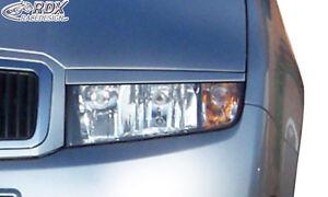 RDX-Scheinwerferblenden-SKODA-Fabia-1-6Y-Boeser-Blick-Blenden-Spoiler-Tuning