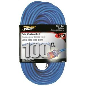 Cord Extension Outdoor Cold 14 3x100ft 54732812592 Ebay