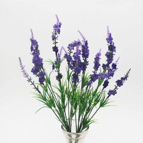 Lila Lavendel Weiß Singrün Magenta Künstlich Blume Weihnachten Pflanzen