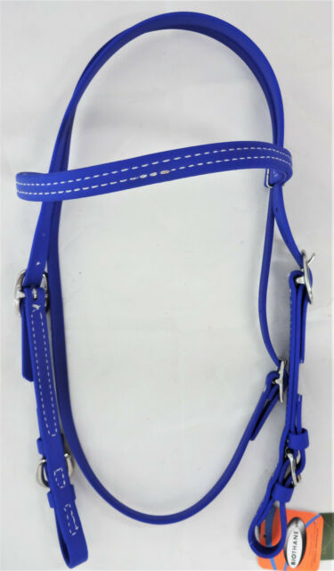 Berlin Custom Leather Beta Headstall with Buckle BE102
