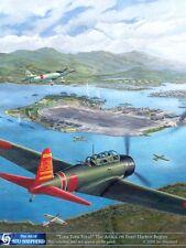 ART PRINT:  Tora Tora Tora Pearl Harbor Attack - Print by Shepherd