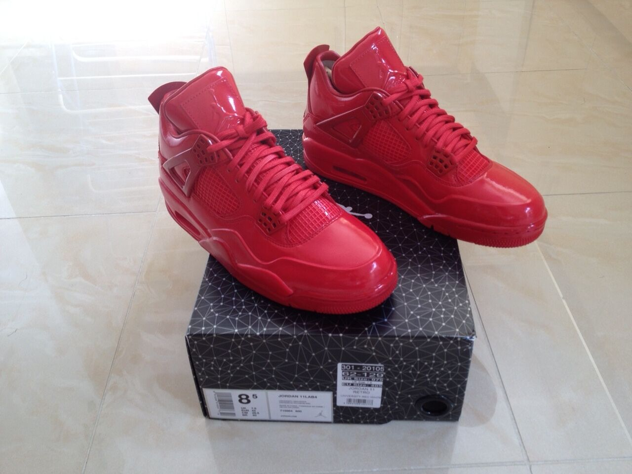 2015 Nike Air Jordan 11LAB4 rot LIMITED EDITION EDITION EDITION NEW Größe UK 13  d75dc5