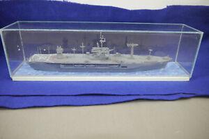 Uss-Bleu-Crete-Lcc-19-1997-Collectible-Construit-dans-Acrylbox-1-700-F15-B