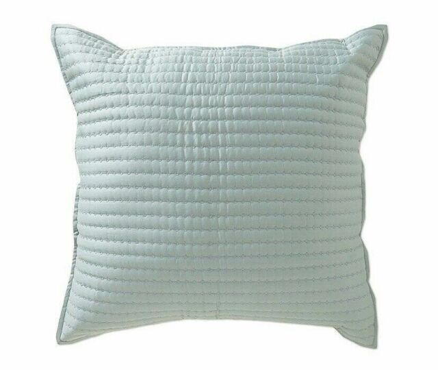 Noble Excellence Villa Capri One Euro Pillow Sham Blue 26 x 26 New