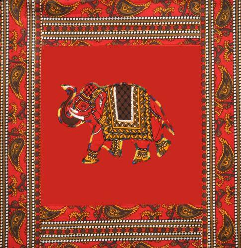 Indien Maison 100/% Coton Décorative Traditionnel Imprimé Divan Lit Set 8 Pcs Art