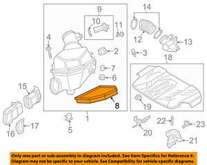 BMW-OEM-13-16-M5-Engine-Air-Cleaner-Filter-Element-13727843283