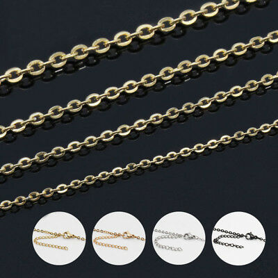 """100pcs Wholesale in Lots Silver//Gold//Rose Gold Stainless Steel Rolo Bracelet 8/"""""""