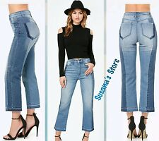 NWT bebe Reworked Crop Jeans SIZE XL Stretch-denim, Sexy high waist jeans $148