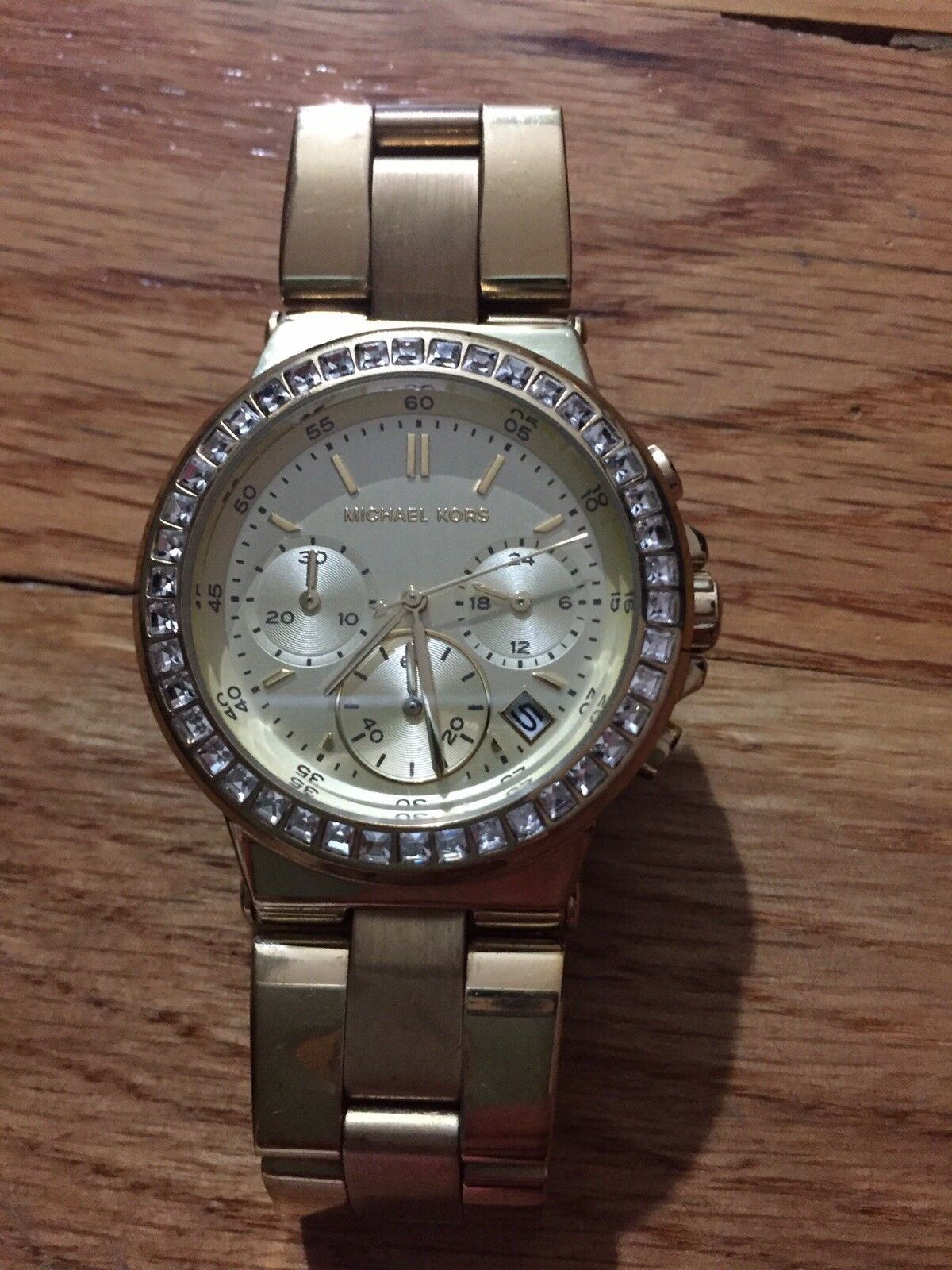 a0a356afc51e Michael Kors Women 38mm Mini Dylan Gold Glitz Bracelet Watch MK5623 for  sale online