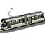 Kato-14-802-2-Toyama-Light-Rail-Tram-PORTRAM-9002-Silver-N miniature 1