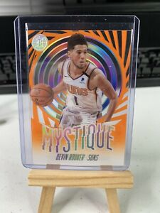 DEVIN-BOOKER-SSP-ORANGE-MYSTIQUE-CLEAR-ACETATE-2019-20-PANINI-ILLUSIONS-GEM