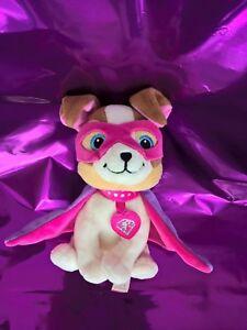 Peluche Doudou Chien Masqué Super Héros Princesse Barbie Gipsy