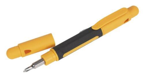 Siegen Tools 4-in-1 Pocket Precision Screwdriver