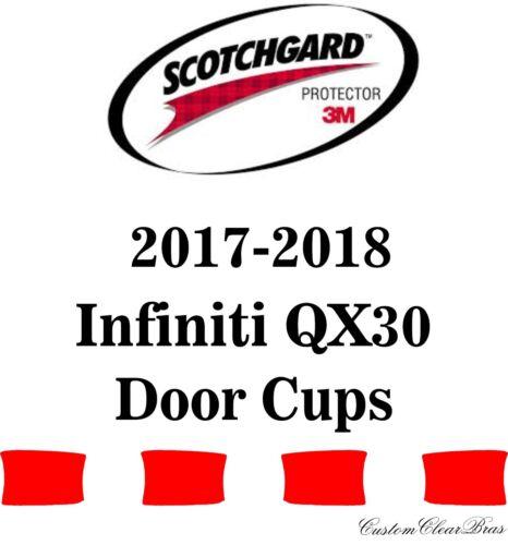 3M Scotchgard Paint Protection Film Clear Bra Fits 2017 2018 Infiniti QX30 Base