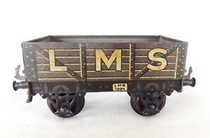 001r : Vintage Bing O Calibre Lms Ouvert Wagon