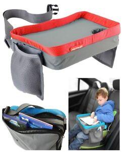 Spieltisch-Esstisch-Kinderwagentasche-Play-Tray-Knietablett-Rot