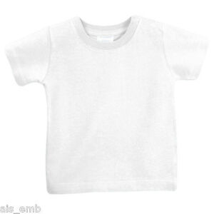 big collection top-rated original exceptional range of styles Details about Infant & Toddler T Shirt Plain Blank for Embellishment Crafts  Heat Transfer