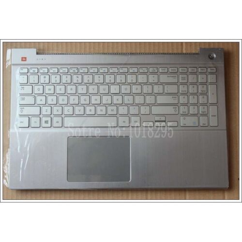 For samsung NP770Z5E NP780Z5E NP880Z5E 670Z5E US keyboard Silver Palmrest Cover