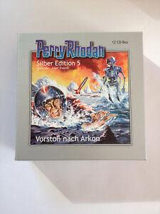 Perry-Rhodan-Silber-Edition-5-Vorstoss-nach-Arkon-12-CDs-Box