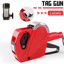Mx5500 Eos 8 Digits Price Tag Gun Labeler Labeller Includes Labelsink Refills