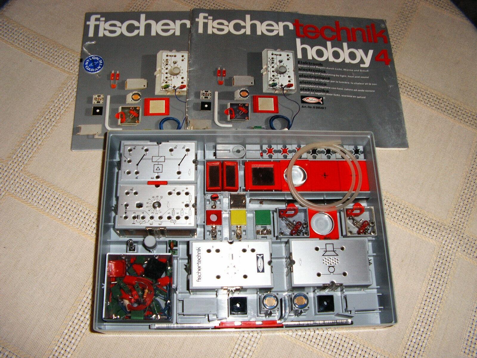 Fischertechnik Baukasten hobby 4, Elektronik, mit Beschreibung, TOP