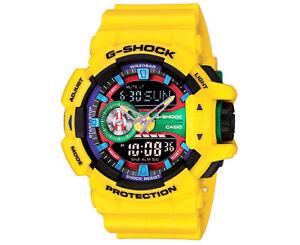2fe3272d2 Casio Analog Digital Sport Mens G Shock Yellow Watch Ga-400-9a for ...