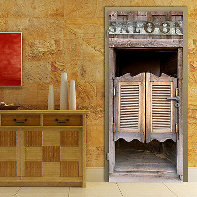 Big Photo Thrilling Saloon Door Mural Home Interior Decoration Wall Paper Art