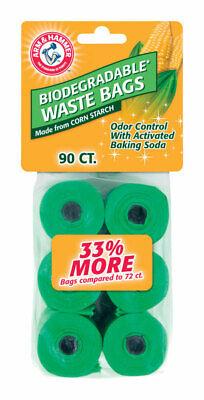 Arm & Hammer Biodegradable Waste Bags 90 Pk Plastic Reputatie Eerst