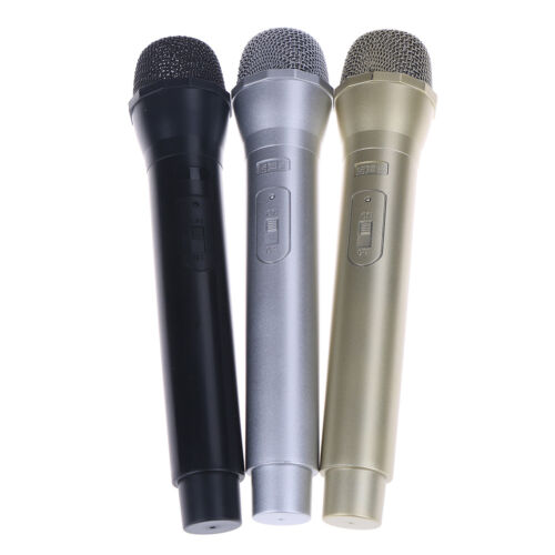 Dummy Microphone Simulation Mic Model Shell Performance Props Children Toy KW