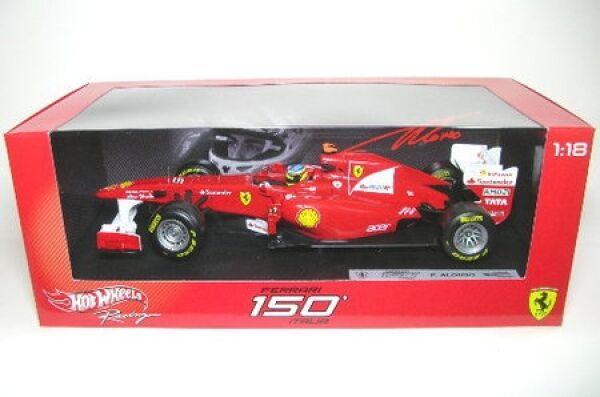Tempêtes d'achat, le Nouvel An de Noël est le premier à être fort Ferrari 150 ITALIA No. 5 F. ALONSO formule 1 2011 | Choix Des Matériaux