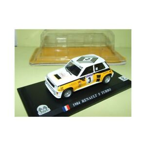 RENAULT-5-TURBO-RALLYE-TOUR-DE-FRANCE-AUTO-1984-J-RAGNOTTI-DEL-PRADO-1-43-1er-b