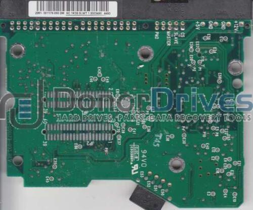 2061-001179-000 DM WD1200JB-00EVA0 WD IDE 3.5 PCB