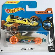 Hot Wheels Arrow Dynamic 2017 Treasure Hunt Car On Short Card X-Raycers Mint