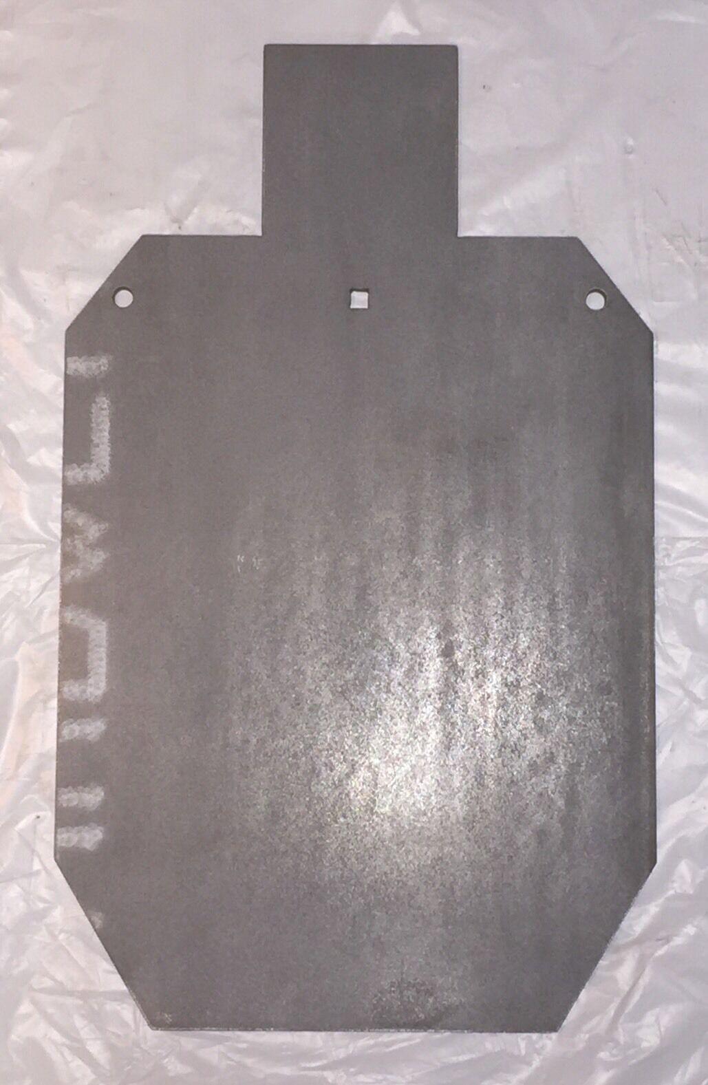 AR500 escala completa objetivo de disparo de acero IPSC IDPA Gong 1 4  X 18  X 30