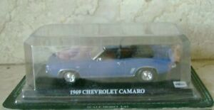 Del-Prado-1-43-Chevrolet-Camaro-1969-Car-Collection-Diecast