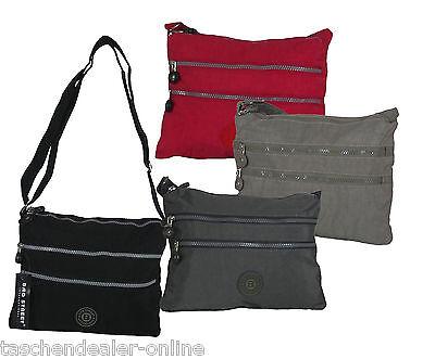 Tasche Damentasche Handtasche Stofftasche Schultertasche BAG STREET Farbwahl NEU