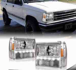 This Page Contains All Information About Led Headlight Conversions Ford Explorer And Ranger