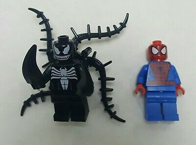 NEW Big Figure Lego Minifigure VENOM 2 Spider-Man Marvel Comics Avengers
