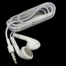 White In-Ear Earphones Headphones with Mic for iPhone 4 5S 5C 6 PLUS iPod iPad