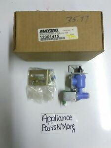 NEW-MAYTAG-REFRIGERATOR-SINGLE-WATER-INLET-VALVE-12001415-FREE-SHIPPING