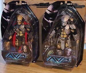 NECA AVP  Series 17 lot of 2 (Youngblood, Elder} Predators