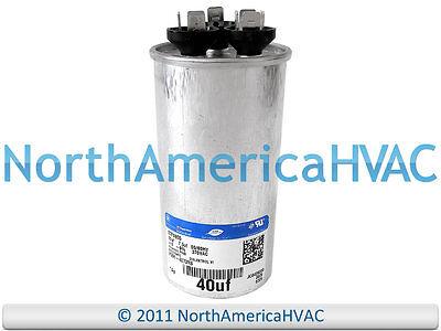 fits ICP # 1172296 80//7.5 uf MFD 370//440 Volt VAC ClimaTek Round Capacitor