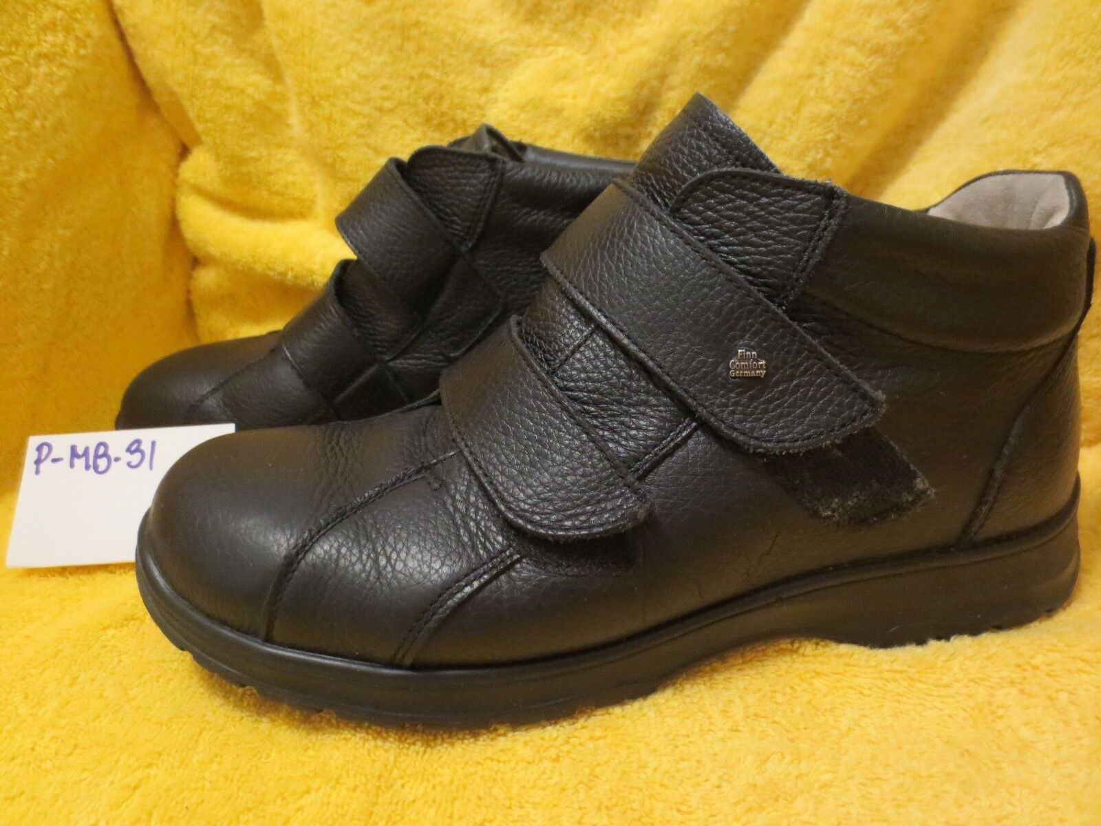 NEW ARRIVAL- FINN COMFORT BOOTS,LEATHER, 10 US Mens (9 1 2 UK) , P-MB-31
