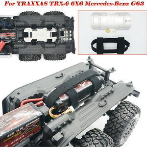 NEU-1-2mm-Edelstahl-Sekundaerbatteriefach-fuer-TRAXXAS-TRX-6-6X6-Mercedes-Benz-G63