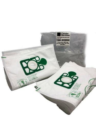Candor Premium Microfibre Dust Bags x10 for Numatic Henry Allergy HVA160 HVA 160