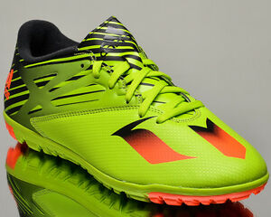 adidas Messi 15.3 TF Turf mens soccer shoes NEW voltage green S74696