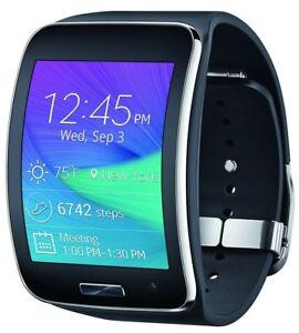 Samsung Galaxy Gear S SM-R750V Verizon Smart Watch Black w ...