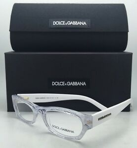 36ccd01be79 New DOLCE   GABBANA Rx-able Eyeglasses DG 3115 1896 51-17 Clear ...